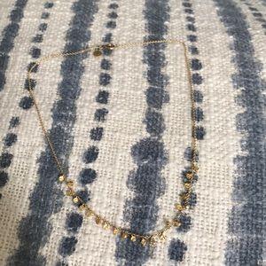 Gorjana Chloe Mini Necklace in gold-Lightly worn